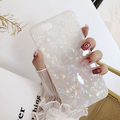 For iPhone 8 7 Plus XS MAX XR Marble Shockproof Silicone Soft Phone Case Cover 3