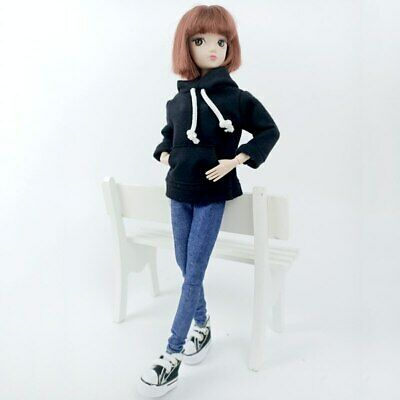 """Fashion Handmade Hoodie For 11.5"""" 1/6 Doll Sweatshirt Outfits Doll Clothes Shoes 5"""