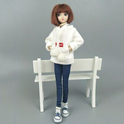 Fashion Doll Clothes Sweatshirt Coat For 11.5in. Doll Outfits Pants Shoes 1/6 12