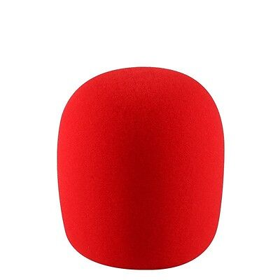5 X  High Quality Microphone Windscreen Foam Mic Cover Extra Thick 15mm 8