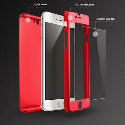 For iPhone 6 7 8 5s Plus XR XS Max Case Shockproof360 Bumper Hybrid Phone Cover 2