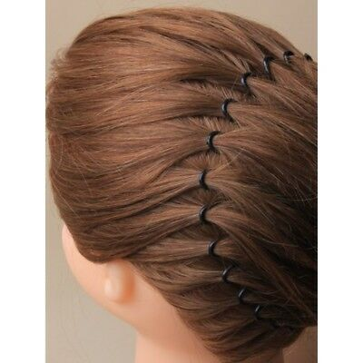 ... 1x Stretch Zigzag Hair Band Headband Black or Brown Flexi Comb Headbands  UK 009 3 7145f4e9b83