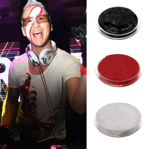 Face Paints 3 Colors Cream Makeup Masquerade Party Halloween Fancy Carnival New 4
