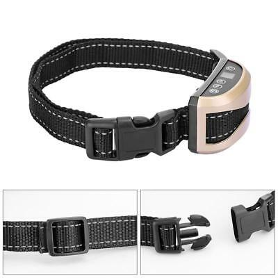Anti Bark Electric Shock Dog Collar Stop Barking Pet Training Collar Control 2