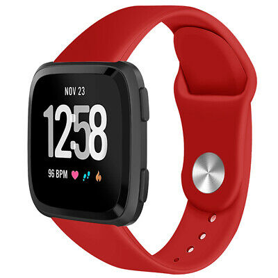 For Fitbit Versa Smartwatch Soft Silicone Replacement Sports Classic Band Strap 3