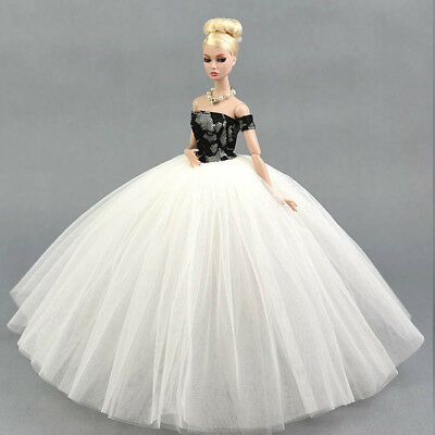 """Doll Dress Costume Elegant Lady Wedding Dress For 11.5"""" Doll Clothes Outfits Toy 10"""