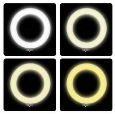 Luz LED Regulable, Anillo de Luz LED de 26cm + TRIPODE 2,1mts nuevo 2700K/5500K 5