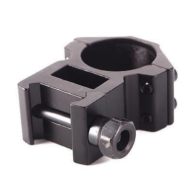 "2pcsx 25.4mm 1"" Ring Profile QD Scope Flashlight 20mm Ring Rail Mount HOT 4"