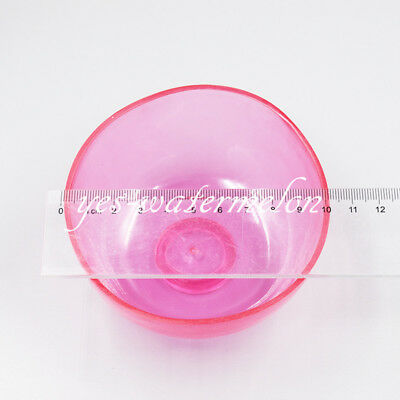 Dental Lab Nonstick Flexible Rubber Impression Mixing Alginate Bowl Pink 10CM