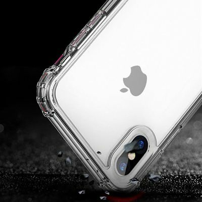 Antichoc Bumper Silicone Housse Coque iPhone XS Max 2018 XR X 8 Plus 7 Plus 6s 5 2