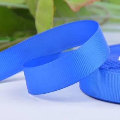 25 Yards Grosgrain Ribbon Roll 10 15 25 38mm Wide Card Make Wedding Gift Bows 2