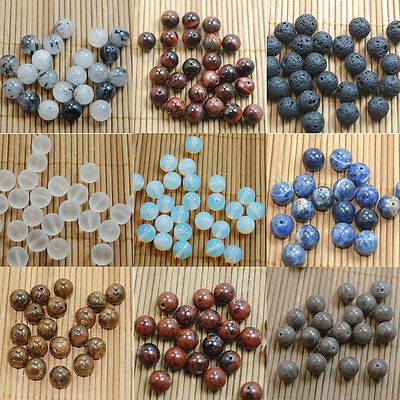 Natural Gemstone Round Spacer Beads Making 4mm 6mm 8mm10mm Wholesale DIY Jewelry 5