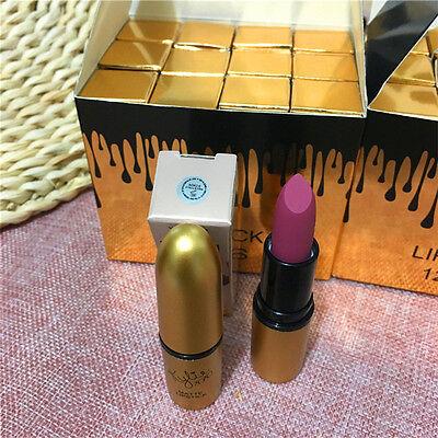 12 Colors New Fashion Long Lasting Waterproof Makeup Matte Lipstick Lip Gloss 6