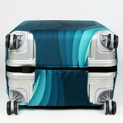 """18""""-32"""" Travel Suitcase Luggage Cover Protector Elastic Anti-scratch Dustproof 10"""
