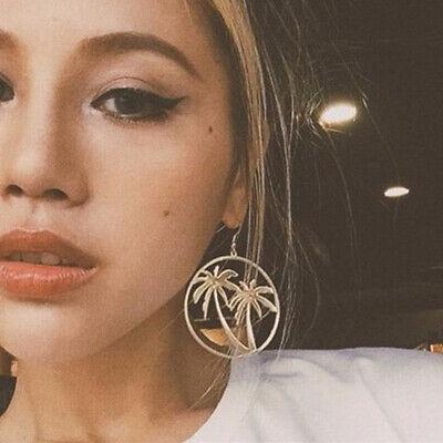 Fashion Women Statement Boho Geometric Big Pendant Ear Stud Dangle Drop Earrings 9