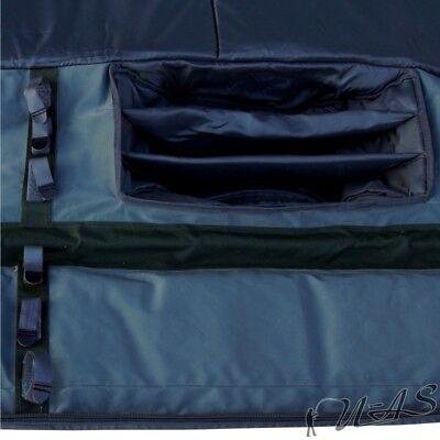 Delta Fishing Karpfen Rutentasche 2,10M 12 /& 13Ft Rutenfutteral Gepolstert Sha