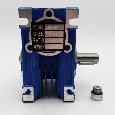 5:1 Worm Gear Reducer Speed Gearbox NMRV030 for NEMA23 Sevor / Stepper Motor 3