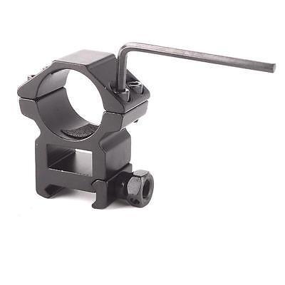 "2pcsx 25.4mm 1"" Ring Profile QD Scope Flashlight 20mm Ring Rail Mount HOT 3"