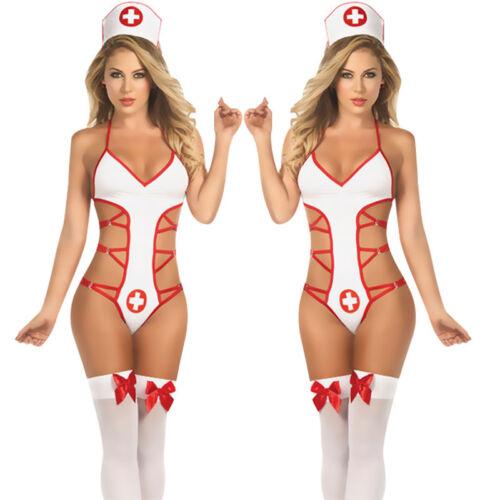 ca637a9eb0b SEXY LINGERIE FANCY Bedroom Nurse Costume Nurse Outfit & Hat HOT ...