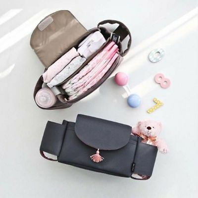 Baby Organiser Cup Bottle Holder Mummy Bag Storage Buggy Stroller Pram Pushchair 5