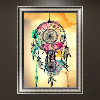 5D Diy Diamond Embroidery Painting Indian Dream Catcher Cross Stitch Painting