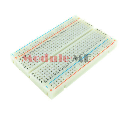 5PCS Mini Universal Solderless Breadboard 400 Contacts Tie-points Available UK 3