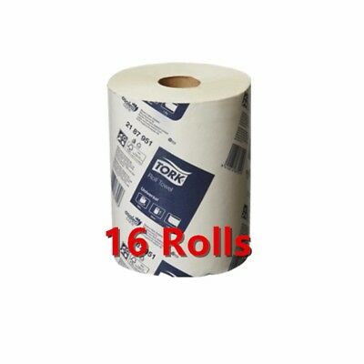 Tork Hand Towels Paper Towel Roll Bulk Industrial Kitchen White 8/16/32 Rolls 5