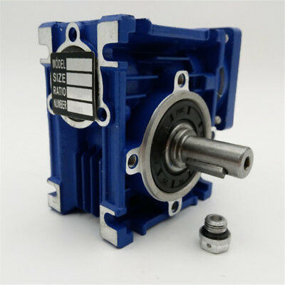 5:1 Worm Gear Reducer Speed Gearbox NMRV030 for NEMA23 Sevor / Stepper Motor 5