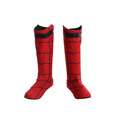 Spiderman Spider-Man:Homecoming Cosplay Costume Halloween full suit with shoes 9