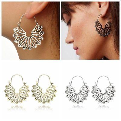 Fashion Bohemia Jewelry Vintage Silver Ear Hook Drop Dangle Tassel Bead Earrings 10