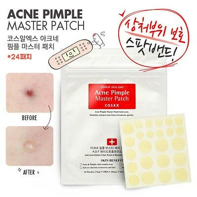 COSRX Acne Pimple Master Patch x 1 sheet (24 patches) New Edition, UK Seller!