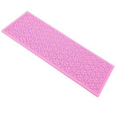 Lace Silicone Mold Mould Sugar Craft Fondant Mat Cake Decorating Baking Tools 7