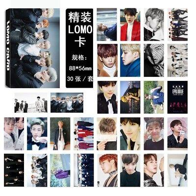 KPOP BTS Bangtan Boys Album LOVE YOURSELF Answer Photo Card Lomo Card PhotoCard 10