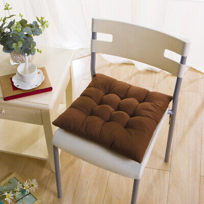 2pcs Square Thicker Cushions Chair Seat Pad Dining Room Garden Kitchen School 11 88 Picclick Uk