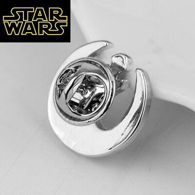 STAR WARS REBEL ALLIANCE Logo Metal Pin brooch prop badge darth vader cosplay 3