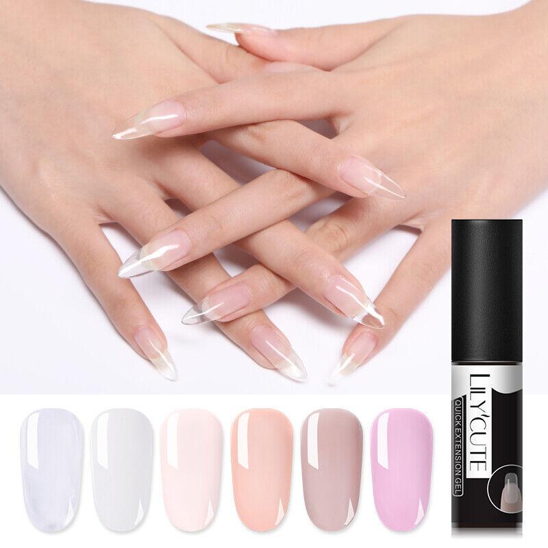 LILYCUTE Quick Extension UV Gel Nail Art Semi Permanent Vernis à ongles Tools 6
