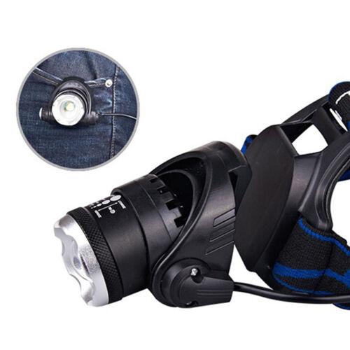 12000lm XM-L XML T6 LED-Stirnlampe Scheinwerfer Taschenlampe 18650 KopflichR.DE