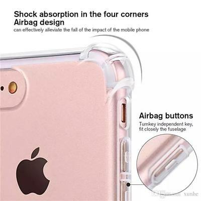 for iPhone Xs 8 7 6s Plus 5s 11 XR Case Cover Silicon Shockproof Tough Hard Gel 9