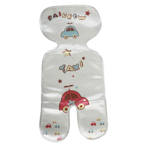 Baby Infant Stroller Car Seat Pram Highchair Cool Icy Silky Liners Pad Mat 9