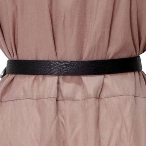 2 sur 4 ceinture à double boucle en cuir bohème en métal rétro pour femme C  75870323eba