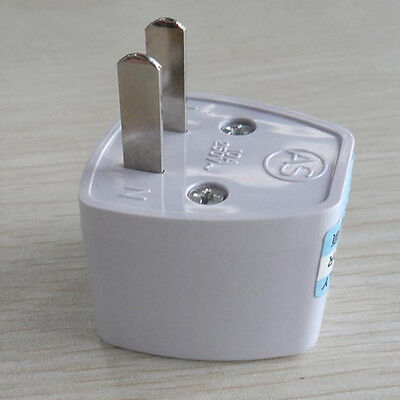 Tour EU UK AU to US USA AC Travel Power Plug Adapter Outlet Converter Universal 2