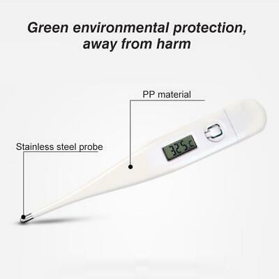 Digital Thermometer Adult Medical Baby Body Kids Safe Ear Mouth LCD Temperature 3
