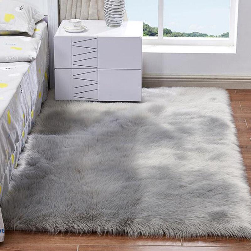 Washable Fluffy Rug Anti-Skid Shaggy Rugs Carpet Living Room Bedroom Floor Mats 4