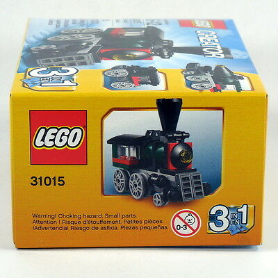 LEGO Creator Emerald Express 31015 WITHOUT FACTORY BOX all parts in sealed bag