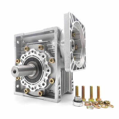 NMRV040 Worm Gear Reducer Ratio 10~100:1 Shaft for NEMA24/32/34/36 Stepper Motor 9