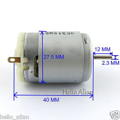 DC370 Carbon Brush Motor DC 3V 6V 7.2V 24000RPM High Speed Large Torque DIYParts