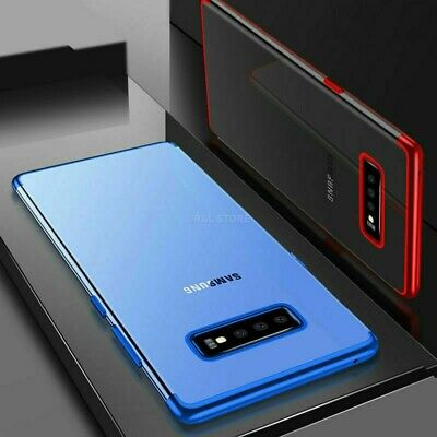 COVER per Samsung Galaxy S10 /S10e/ S10 Plus CUSTODIA ORIGINALE Electro TPU Slim 8