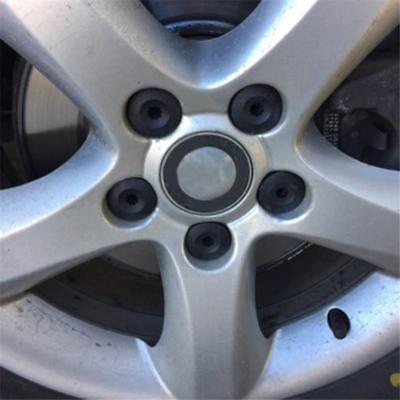 Car Wheel Tyre Hub Screw Bolt Nut Caps Accessories Black Practical Caps T 3