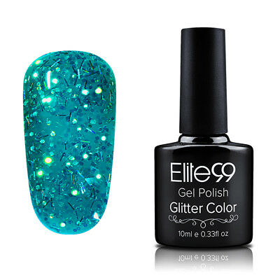 Elite99 Diamond Esmalte Semipermanente Glitters Uñas en Gel UV LED Top Base Coat 10