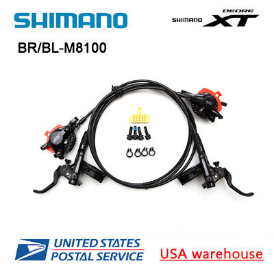 New 2020 Shimano Deore XT BL BR M8100 Hydraulic Disc Brake Ice Tech 1600 800mm